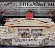 Varios periódicos internacionales