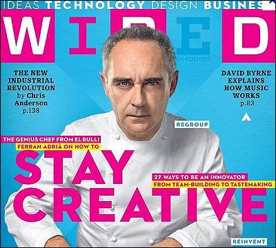 Ferran Adria en Wired