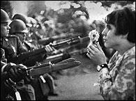 Protesta contra la guerra de Vietnam, segun Magnum