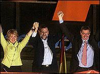 Esperanza Aguirre, Mariano Rajoy y Alberto Ruiz Gallardón