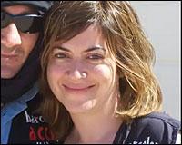 Alica Gamez en la Caravana 2008