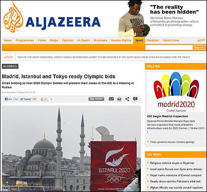 El artículo de Al Jazeera
