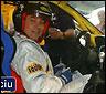 Artur Mas pilotando un coche