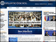 Web del Atlantic Council