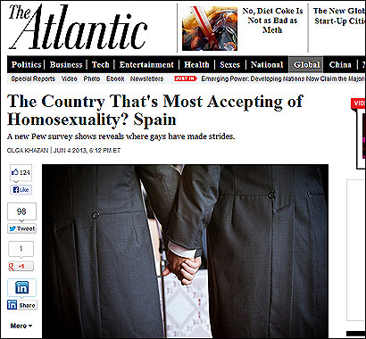 El artículo de The Atlantic