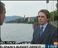 Aznar en Bloomberg