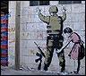 Uno de los últimos graffitis de Banksy