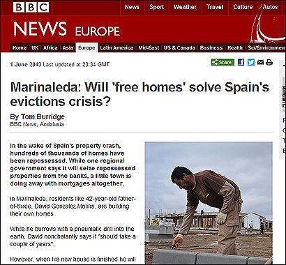 El reportaje de la BBC