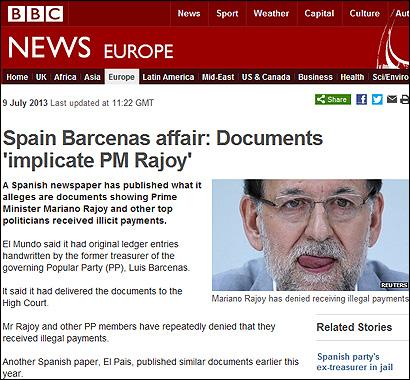 El artículo en la BBC