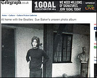 John Lennon en su casa