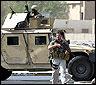 Un convoy de Blackwater en Irak