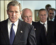 Bush y su gabinete