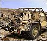 Un jeep camuflado con la nueva técnica