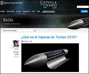 Web de la Capsula 2210