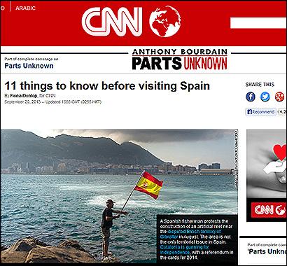 El articulo de CNN
