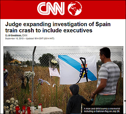 La noticia en CNN