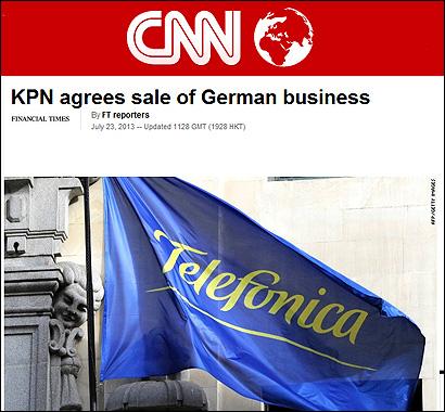 La noticia en CNN
