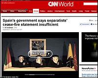 La tregua de ETA en la CNN