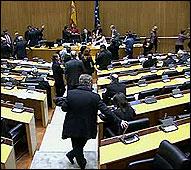 Angeles Gonzalez Sinde en el Senado