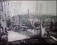 Imagen de la construccion del Titanic