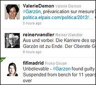 Corresponsales escriben sobre la condena a Garzón