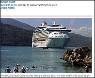 Un crucero en Haiti