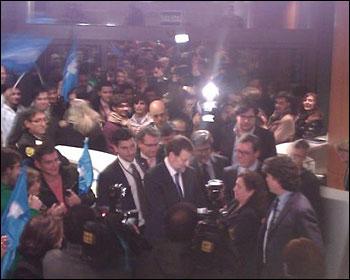 Rajoy en Genova