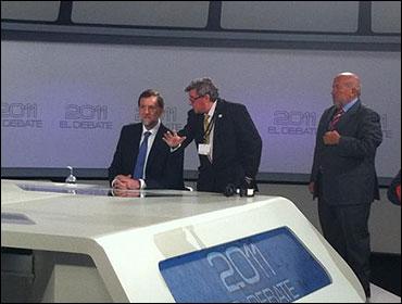 Rajoy se sienta