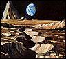 Un dibujo del espacio a cargo de un cosmonauta