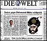 El periodico Die Welt