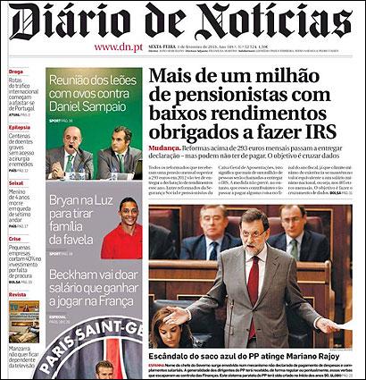 La prensa extranjera mantiene el foco incluso en portada for Noticias naturaleza