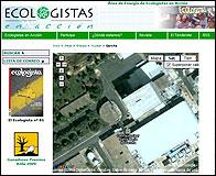La central de Garoña en la web de Ecologistas en Accion
