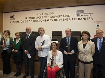 La entrega de los premios ACPE