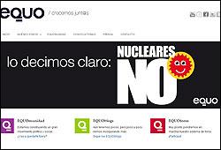 Campaña de Equo contra las nucleares