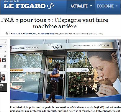 El artículo de Le Figaro