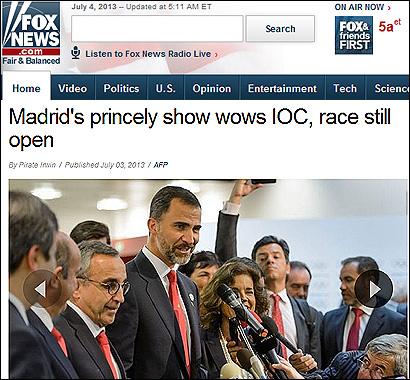El articulo de Fox News