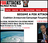 La web de la campaña Fox Attacks