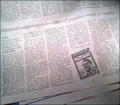 El artículo sobre Mongolia en el FT