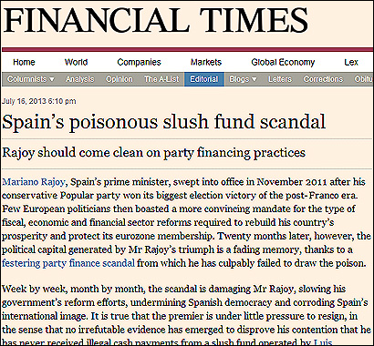 El editorial del Financial Times