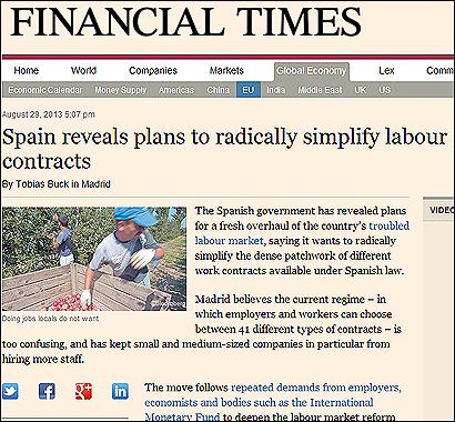 El artículo del Financial Times