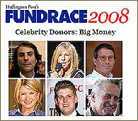 Buscador Fundrace 2008 de donantes famosos