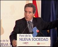 Iñaki Gabilondo en el Foro de la Nueva Sociedad