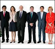 Juan Jose Güemes y Lucía Figar forman parte del Gobierno de Aguirre