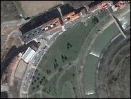 Imagen de Google Maps del lugar del atentado