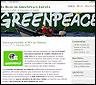Portada del blog de Greenpeace