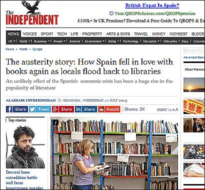 El artículo de The Independent