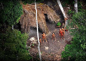 Foto de los indígenas