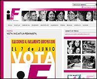 Web de Iniciativa Feminista