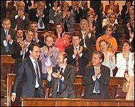 La investidura de Zapatero en 2004