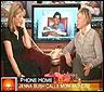 Jenna Bush llama a su padre en TV